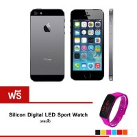 REFURBISHED iPhone5S 32 GB (Black) + Silicon Watch