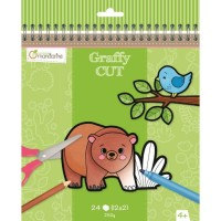 Avenue Mandarine Coloring Book - Graffy CUT