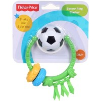 Fisher Price - Newborn Soccer Ring Clacker