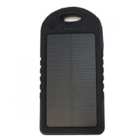 iTalk Solar Cell Power Bank 5000 mAh –Black
