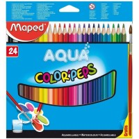 Maped (Aqua Color'peps)  สีไม้ Color'Peps 24 สี