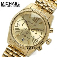 Michael Kors MK5556 Ladies Gold Plated Chronograph