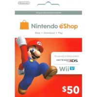 3DS Nintendo Prepaid Card US$50 / for US network only