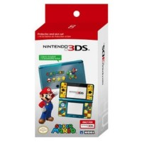 Nitendo 3DS Mario Protector and Skin Set