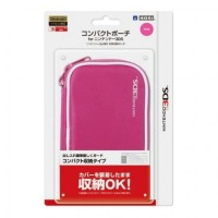 3DS Hori Compact Pouch - Pink