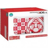 3DS XL [Mario White Edition] (Japan)