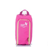 Productdd Travel Shoes Bag กระเป๋าใส่รองเท้า- Pink