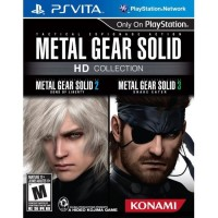 PS Vita Metal Gear Solid HD Collection (US)