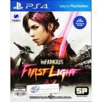 PS4 Infamous: First Light Chinese & English Sub (Asia)