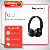 fold J-03 Stereo HeadPhone for SmartPhone # Black