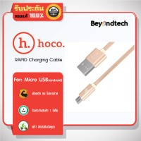 hoco X2 RAPID Charging Cable for Micro 1M # Gold