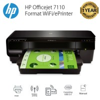 HP Printer Officejet 7110 Format WiFi/ePrinter