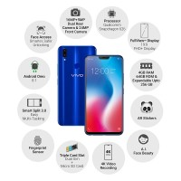 VIVO V9 (64GB / 4GB) # Blue