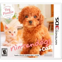 ตลับเกมส์ 3DS: Nintendogs Cats Toy Poodle New Frie