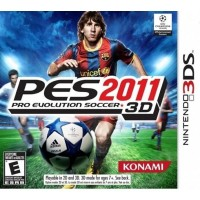 ตลับเกมส์ 3DS: Pro Evolution Soccer 2011 3D (US)
