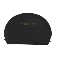 Magicom Cosmetic Bag in Bag 3 ใบ (Black)