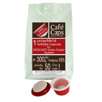 Cafecaps แคปซูลรีฟีล 1  Dolce Gusto® Refillable